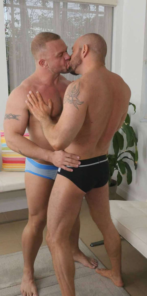 deux gays virils