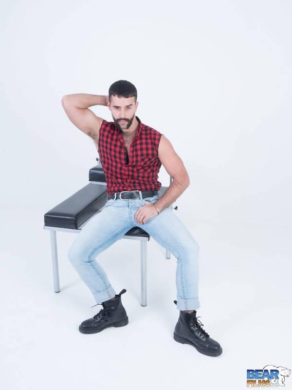 bear jeans chemise bucheron