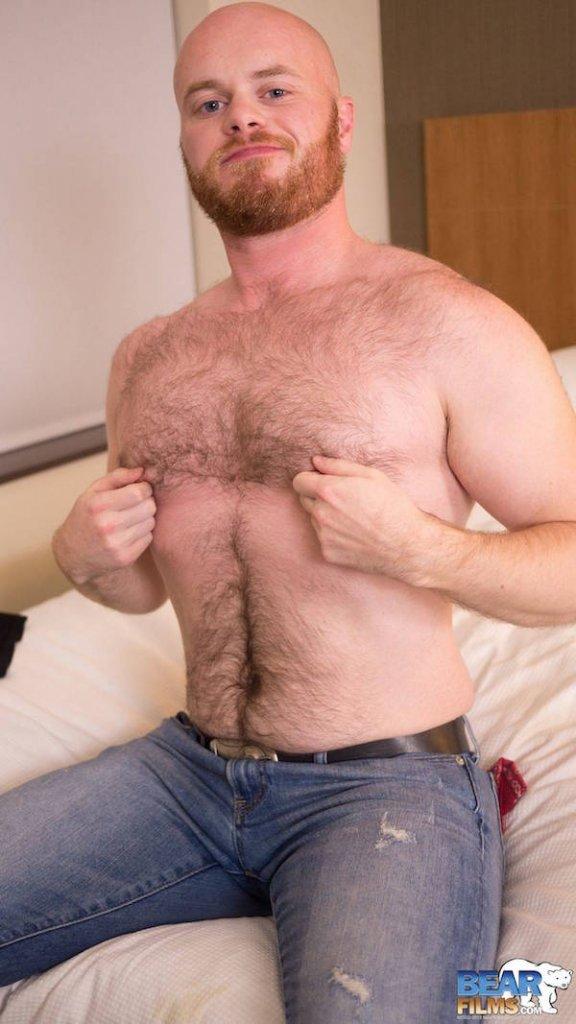 bear caresses seins